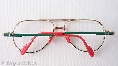 Benetton Markengestell Kinderbrille XXL Pilotenform Metallfassung frame GR:L 4