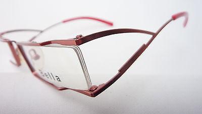 Billiger Preis Neupreis offiziell AUSGEFALLENE LESEBRILLE DAMEN Gestell rechteckig schmal Schmuckbrille rosa  sizeS