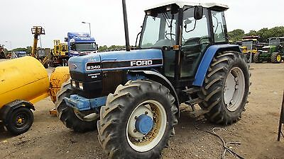 """Ford /""""40 Series/"""" Tractor Operator Manual Book"""