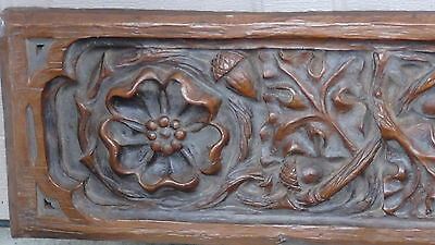 Set Of 6 Vintage Carved Hard Styrofoam Lions,demon,knights Heads Pediments