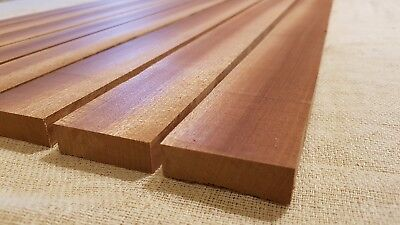 African Mahogany / Sapele Boat Deck Solid Wood Slats - Multiple Sizes - 15Mm 5