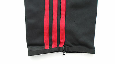 ADIDAS TRAININGSHOSE AC Milan Fitness Hose lang Sporthose schwarz XL XXL 3xXL