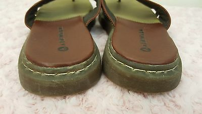 a5230b1cf ... Airwalk Sandals Men s Flip Flops Leather Brown Size 10 Very good used  condition 4