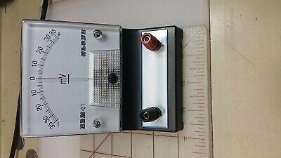 Galvanometer -35ma to +35ma EDM-01 Science kit Boreal Laboratories NOS 2