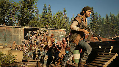 Days Gone Collectors Edition Sony PS4 Playstation 4 Outlaw Biker Doomsday Game 10