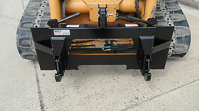 Skid Steer Loader Quick Attach Mount Plate To Category 1 3