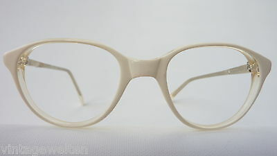 Bannis Kinderbrille Mädchenbrille unisex Kunststoff Weiss Panto preiswert  neu 2