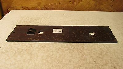 1 Antique Cast Iron Eastlake Door Plate  No. 20 2