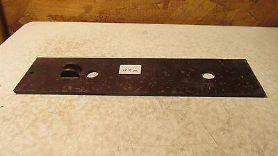 1 Antique Cast Iron Eastlake Door Plate  No. 20 2