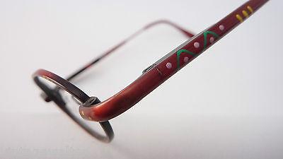 Leo rote Kleinkinderbrille Babyfassung Metallgestell Federbügel lunettes stabil 3