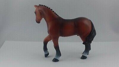2 figurines chevaux-Papo 51559 Shetland Poney avec selle 52014 cavalière enfant