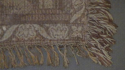 Antique18C  Islamic Persian Hand Woven Tapestry With A Mosque On Distance,framed 10