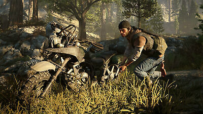 Days Gone Collectors Edition Sony PS4 Playstation 4 Outlaw Biker Doomsday Game 7