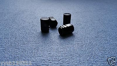 JAGUAR ROSSO METAL POLVERE TAPPI VALVOLA PNEUMATICO RUOTA in alluminio solido COPERCHIO ESAGONALE