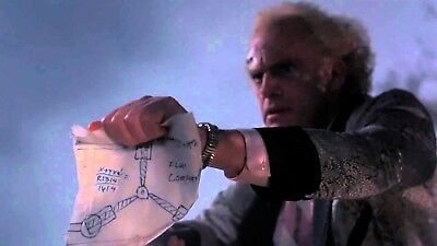 Back To The Future Dr. Emmett Brown Flux Capacitor Drawing > McFly Prop/Replica 3