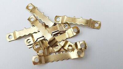 Saw Tooth Hangers 45mm Brassed Picture Canvas Frame Hanging Multi List 11
