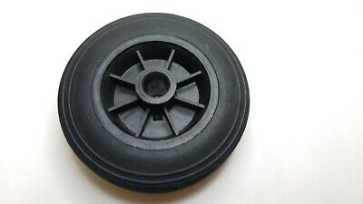 Black Plastic Replacement Jockey Wheel Fits Mp437 155Mm Maypole Genuine Mp226 4