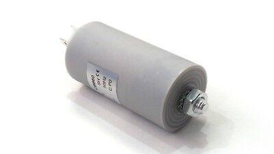 6UF 400-500V 4 TERMINALS PLASTIC ROUND RUN CAPACITOR 6µF AIRCONDITIONER