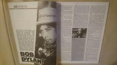 Musik Express Sounds Zeitschrift 1984 Nr. 8 (Bob Dylan, Bruce Springsteen, Cure) 3