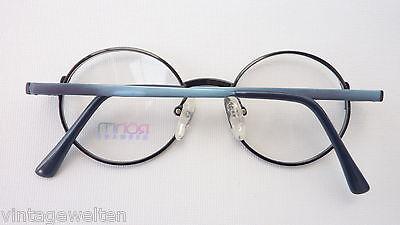 Röhm Kinderbrille Mädchenbrille unisex oval Federbügel blau grün preiswert neu 4