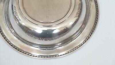 "ALVIN Sterling Silver Deep 10"" Fruit Bowl # D 1003, 335 grams 7"