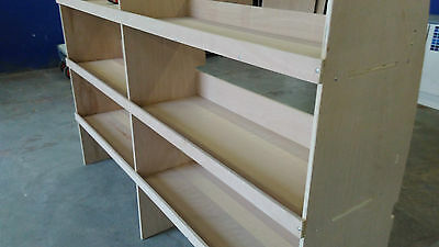 Ford Transit Swb Plywood Racking Driver Side Flat Pack