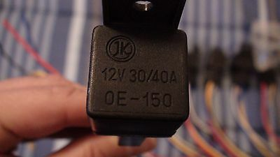 12 Volt 30/40 Amp 0E-150 With Socket Relay Harness Lot Of 7 3