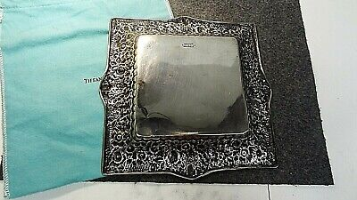 Tiffany & Co Sterling Square Plate 8677m7456 3