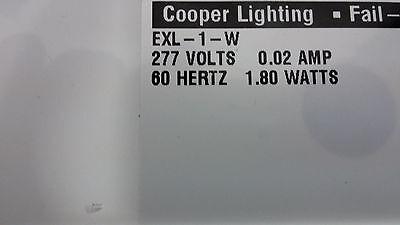 3 of 4 Cooper Lighting Fail Safe Lighting Ex-L-1-Rw-277 Black Led  sc 1 st  PicClick & Cooper Lighting Fail Safe Lighting Ex-L-1-Rw-277 Black Led Exit ... azcodes.com