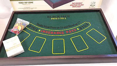 ... Wembley Big Winner Blackjack Table Top Game Set Vegas At Home New In  Box NWOT 2