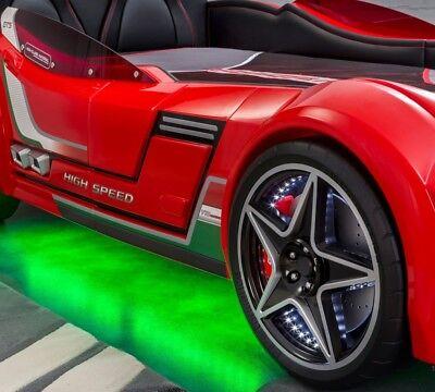 Cilek Autobett GTS 999 Champion Racer GTI Vollausstattung mit LED Kinderbett