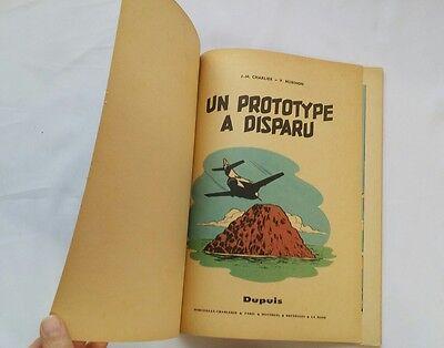 BD - Buck Danny Un prototype a disparu 21 / EO 1960 / HUBINON & CHARLIER