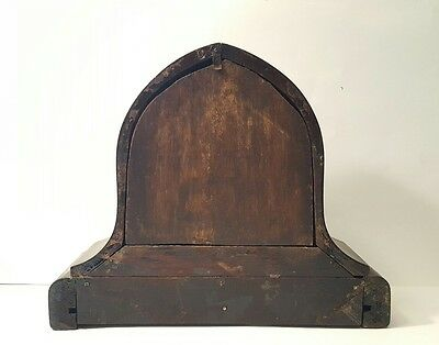 Large Antique Gilbert Mantle Clock w/key- Working 8
