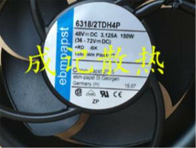 1Pcs ebmpapst 17251 6318/2TDH4P DC48V 150W Four-wire fan #M4260 QL 3