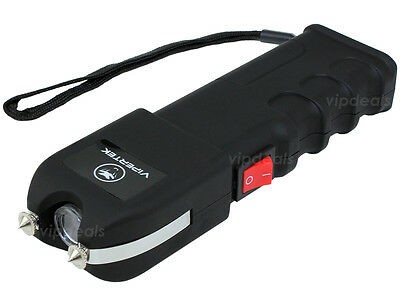 VIPERTEK VTS-989 - 180 BV Stun Gun Rechargeable LED Flashlight 2
