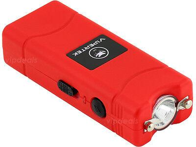 VIPERTEK RED VTS-881 110 BV Micro Rechargeable LED Stun Gun 2