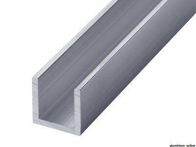 ALUMINIUM CHANNEL U  C PROFILE 64mm 76mm 89mm 101mm 127mm 152mm select length