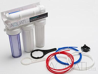 4 Stage RO Reverse Osmosis Water Filter 50/75/100/150GPD Aquarium Tropical Marin 2