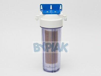 Refillable Inline filter filled with high quality DI resin RO system polishing 2