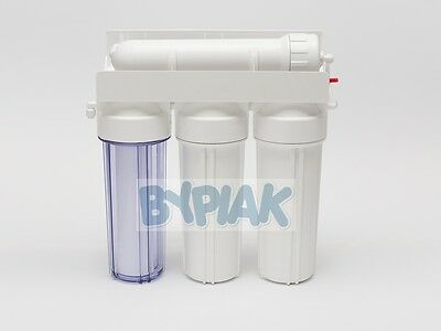 4 Stage Reverse Osmosis Filter Unit 50 GPD Marine / Tropical / Window Cleaning 2 • EUR 79,02