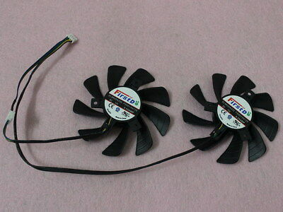 85MM SAPPHIRE XFX Radeon HD7950 HD7970 VAPOR-X Dual Fan FD9015U12S 0 55A  R123a