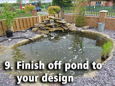 Pond Liners - Bestselling UK Pond Liner - Choose from 30 Bestselling Sizes 10