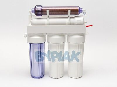 5 Stage RO with DI Resin (Refillable) Reverse Osmosis filter 100GPD Deionization 2