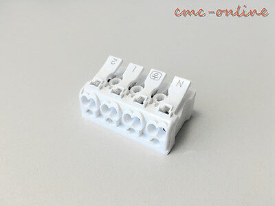 Excellent Plastic Electrical Terminal Junction Box Fused 4 Pole Push Wire Wiring Digital Resources Almabapapkbiperorg