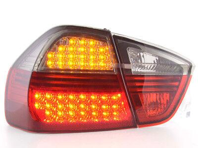 nero Coppia fanali fari POSTERIORI 4250414623128 BMW Serie 3 E46 Berlina  98-01