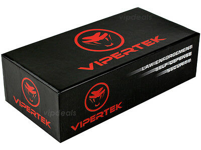 VIPERTEK VTS-T01 Metal 170 BV Stun Gun Rechargeable LED Flashlight 6