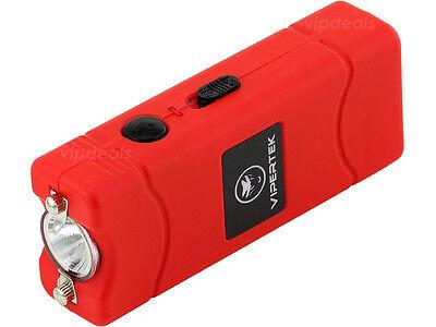 VIPERTEK RED VTS-881 110 BV Micro Rechargeable LED Stun Gun 3