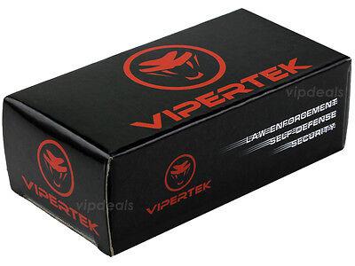 VIPERTEK BLACK Mini Stun Gun VTS-880 100 BV Rechargeable LED Flashlight 7