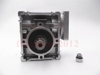 Gearbox NMRV30 Turbo-Worm Gear Reducer Ratio 1:5 Square Flange for NEMA23 4