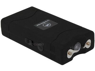 VIPERTEK BLACK Mini Stun Gun VTS-880 100 BV Rechargeable LED Flashlight 2